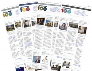 'The 100' email newsletter is being adopted buy a growing number of PR firms.